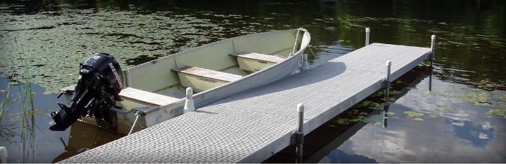 Docks on Legs Sytems & Components Available From Granite State Dock & Marine