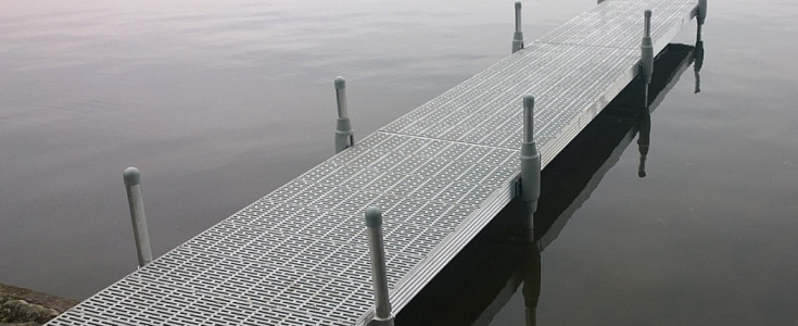 Docks on Fixed Legs Systems