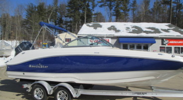 2017 Nautic Star 223DC W/Trailer