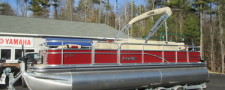 2017 LOWE SF234 FISHING PONTOON W/ 115 HP MERCURY COMMAND THRUST OUTBOARD
