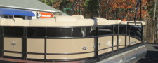 2017 Berkshire 23CL STS 2.75 with a 150HP Yamaha in Black and Bronze