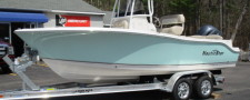 2018 Nauticstar  2102 Legacy with 150HP Yamaha in Sea-Foam Green