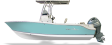 2017 NauticStar Legacy with 150HP Yamaha in Sea-foam Green