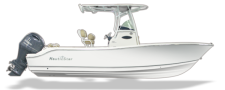 2018 Nauticstar 2302 Legacy with 200HP Yamaha