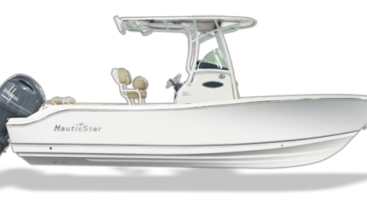 2017 NauticStar 2302 Legacy with 200HP Yamaha in White