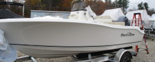 *IN STOCK* 2018 Nautic Star 19XS All White Black Accent w/ Yamaha 115HP
