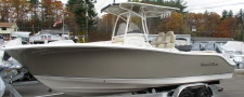 2018 Nauticstar 2602 Legacy In Tan W/ Tan T-Top TWIN Yamaha 150HP's