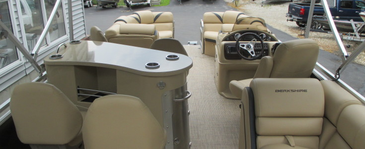 2018 Berkshire 23E Bar Boat Black and Bronze 005