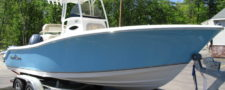 Nauticstar 22XS In Carolina Blue W/ 200HP Yamaha