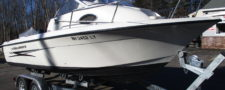 2004 Hydra-Sport 212WA w/ New Trailer & Yamaha 150HP SW Only 253 Hours