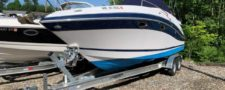 2006 Four Winns 278 Vista Brand new load rite trailer, 550 hours – $33995