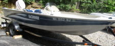 2003 LOWE SEANYMPH V FM165S w/ 50hp Johnson Motor