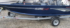 2020 AlumaCraft 145 Escape w/ Evinrude 25HP ETEC-$17,453