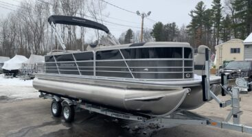 2021 Berkshire 24 RFX LE Tritoon – Mercury 150 – SOLD